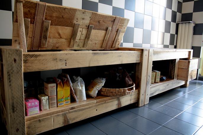 Mobili Con Legno Riciclato : Mobili bagno con legno di recupero armadietto per il bagno con il